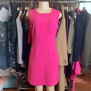 DVF Carrie Ceramic Shift Pink Dress
